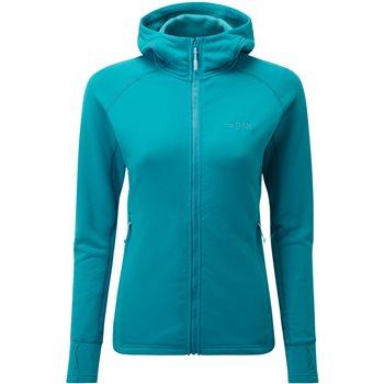 Rab Womens Power Stretch Pro Fleece Jacket Power Stretch Pro Jacket - Aquamarine - Click to view larger image