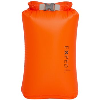 Exped Drybag 3L Ultra Lightweight Waterproof Storage Bag Drybag 3L Ultralight - XS Orange - Click to view larger image