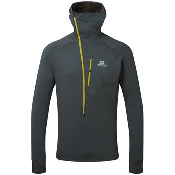 Mountain Equipment Mens Eclipse Hooded Zip T Fleece Eclipse Hooded Zip T - Cosmos - Click to view larger image
