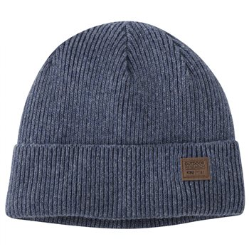 Outdoor Research Unisex Kona Insulated Beanie Kona Insulated Bennie - Steel Blue Heather - Click to view larger image
