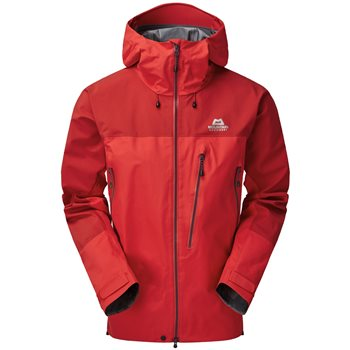 Mountain Equipment Mens Lhotse Waterproof Jacket Lhotse Jacket - Imperial Red-Crimson - Click to view larger image