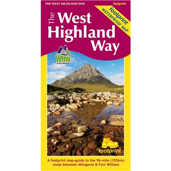 Books/Maps West Highland Way Map  - Click to view larger image