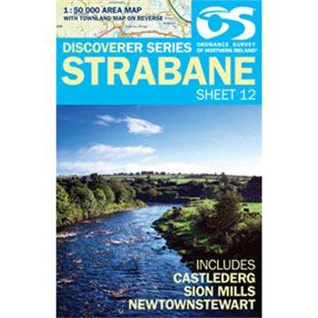 OS Northern Ireland 12 Strabane 1:50 000  - Click to view larger image