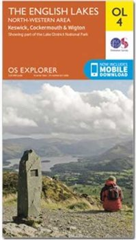 Ordnance Survey OL4 English Lakes NW 1:25 000  - Click to view larger image