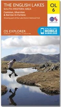 Ordnance Survey OL6 English Lakes SW 1:25 000  - Click to view larger image