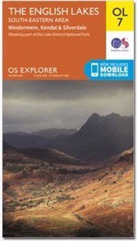 Ordnance Survey OL7 English Lakes SE 1:25 000  - Click to view larger image