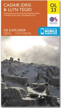 Ordnance Survey OL23 Cadair Idris 1:25 000  - Click to view larger image