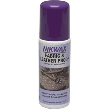 Nikwax Fabric & Leather Proof 125ml  - Click to view larger image