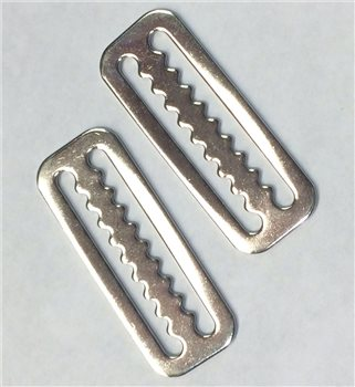 Beaver Stainless 50mm 2 Pack Weight Retainer Clips  - Click to view larger image