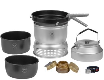 Trangia 25 - 6 Series 3-4 Person Non-stick Stove Set 1085g  - Click to view larger image