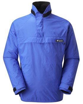 Buffalo Mens Mountain Shirt Pile & Pertex Shell Royal Blue - Click to view larger image