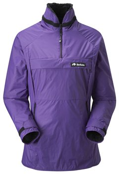Buffalo Womens Mountain Shirt Pile & Pertex Shell Purple - Click to view larger image