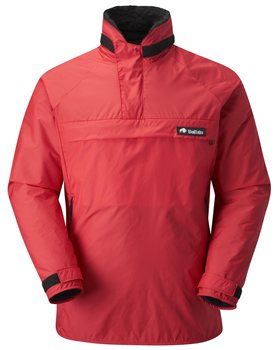 Buffalo Mens Special 6 Shirt Pile & Pertex Shell Red - Click to view larger image