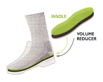 Superfeet Volume Reducer For Hiking Boots  - Click to view larger image