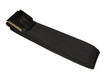 Lumb Brothers 1.45m Weight Belt Webbing with Stainless Steel Buckle Black - Click to view larger image