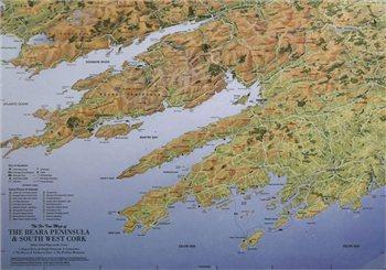 Fir Tree Maps Beara Penninsula & Southwest Cork  - Click to view larger image