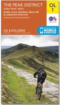 Ordnance Survey OL1 Peak District 1:25000  - Click to view larger image