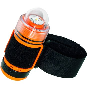 Beaver Spectrum LED Strobe Light 60m Waterproof Dive Torch  - Click to view larger image