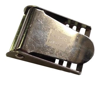 Lumb Brothers Stainless Steel Weight Belt Buckle  - Click to view larger image
