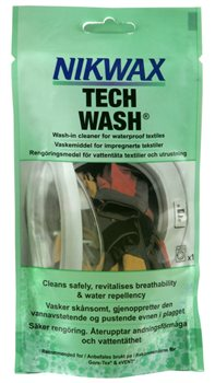 Nikwax Tech Wash 100ml  - Click to view larger image