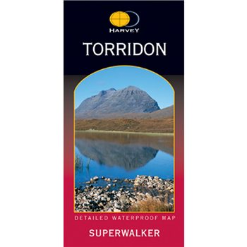 Harvey Maps Torridon Superwalker  - Click to view larger image