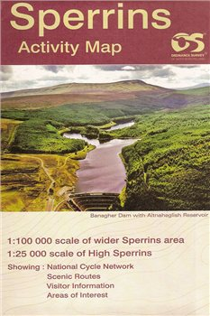 OS Northern Ireland Sperrins 1:25 000  - Click to view larger image