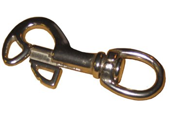 Lumb Brothers Butterfly Sliding Bolt Snap Hook  - Click to view larger image