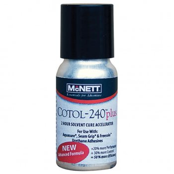 McNett Gear Aid Cotol 240 Plus Urethane Cure Accelerator & Pre-cleaner  - Click to view larger image