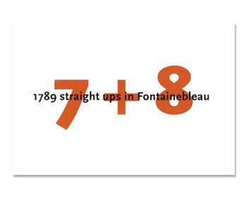 Books/Maps 7 + 8 Fontainbleau