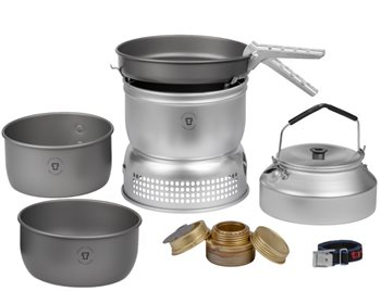 Trangia 25 - 8 Series 3-4 Person Hard Anodised Stove Set UL/HA  - Click to view larger image