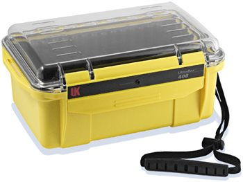 Underwater Kinetics 408 UltraBox 2.43L Water Dust Moisture Proof Dry Box  - Click to view larger image
