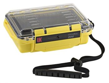 Underwater Kinetics 206 UltraBox 0.63L Water Dust Moisture Proof Dry Box  - Click to view larger image