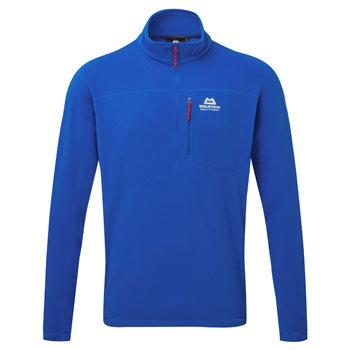 Mountain Equipment Mens Micro Zip T Fleece Lapis Blue - Click to view larger image