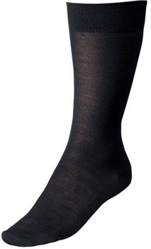 Silkbody Silk Sock Liner Mid Length  - Click to view larger image