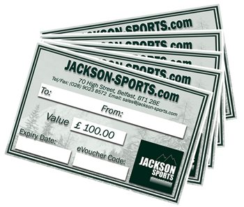 Jackson Sports Gift Vouchers  - Click to view larger image