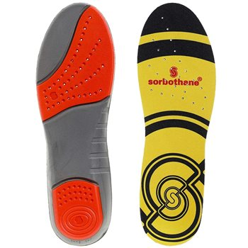 Sorbothane Unisex Double Strike Shock Absorbed Insoles