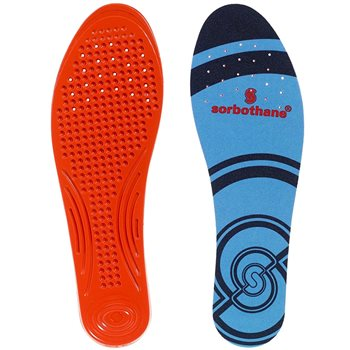Sorbothane Unisex Full Strike Shock Absorbed Insoles  - Click to view larger image