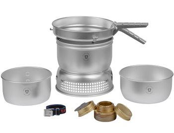 Trangia 27 - 1 Series 1-2 Person Aluminium Stove Set 690g  - Click to view larger image