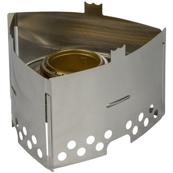 Trangia Triangle Stainless Steel Lightweight Stove 115g  - Click to view larger image