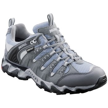 Meindl Womens Respond GTX Walking / Hiking Shoes Blackberry-Gray - Click to view larger image