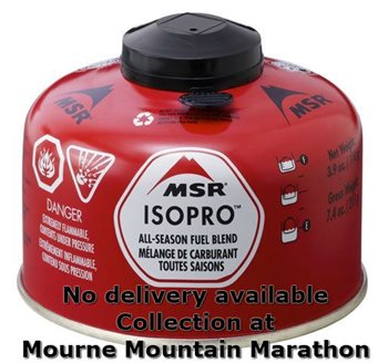 MSR 113g / 4oz Gas - Only for Mourne Marathon  - Click to view larger image