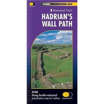 Harvey Maps Hadrians Wall Path  - Click to view larger image