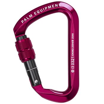 Palm Equipment HMS Screwgate Carabiner  - Click to view larger image
