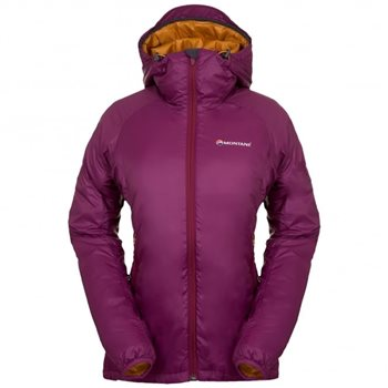 Montane Female Prism Jacket Dahlia-Inca Gold - Click to view larger image