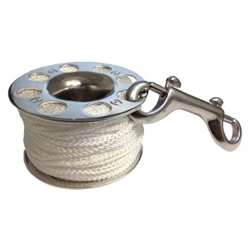 Hollis Finger Spool Stainless Steel 30-45m  - Click to view larger image