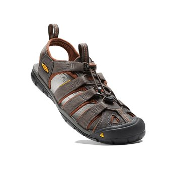 Keen Mens Clearwater CNX Walking / Hiking Sandals Clearwater CNX Raven-Tortoise Shell - Click to view larger image
