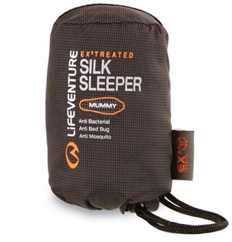 Lifeventure EX3 Silk Mummy Sleeper  - Click to view larger image