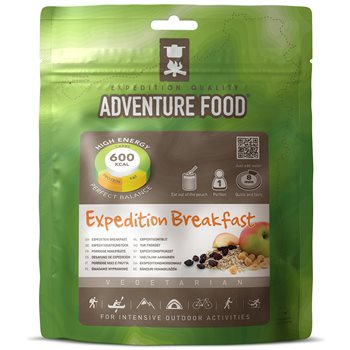 Adventure Food Expedition Breakfast for Intensive Outdoor Activities  - Click to view larger image