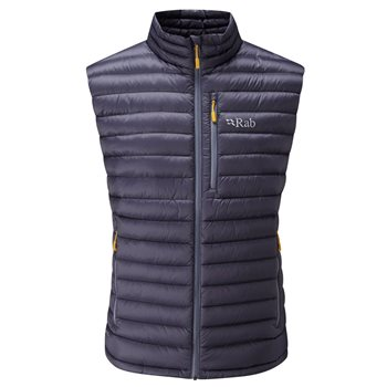 Rab Microlight Vest 2017-18  Steel-Dijon - Click to view larger image
