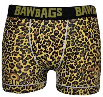 Bawbags Cool De Sacs - Yellow Leopard  - Click to view larger image